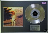 "BILLY FURY - 7"" Platinum Disc+cover - DEVIL OR ANGEL"